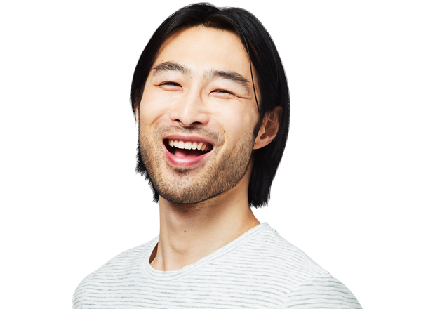Person smiling